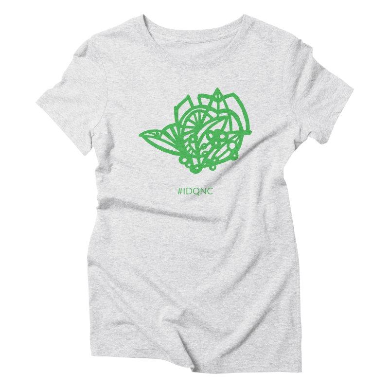 IDQNC-016 (green) Women's T-Shirt by jeffjacques's Artist Shop