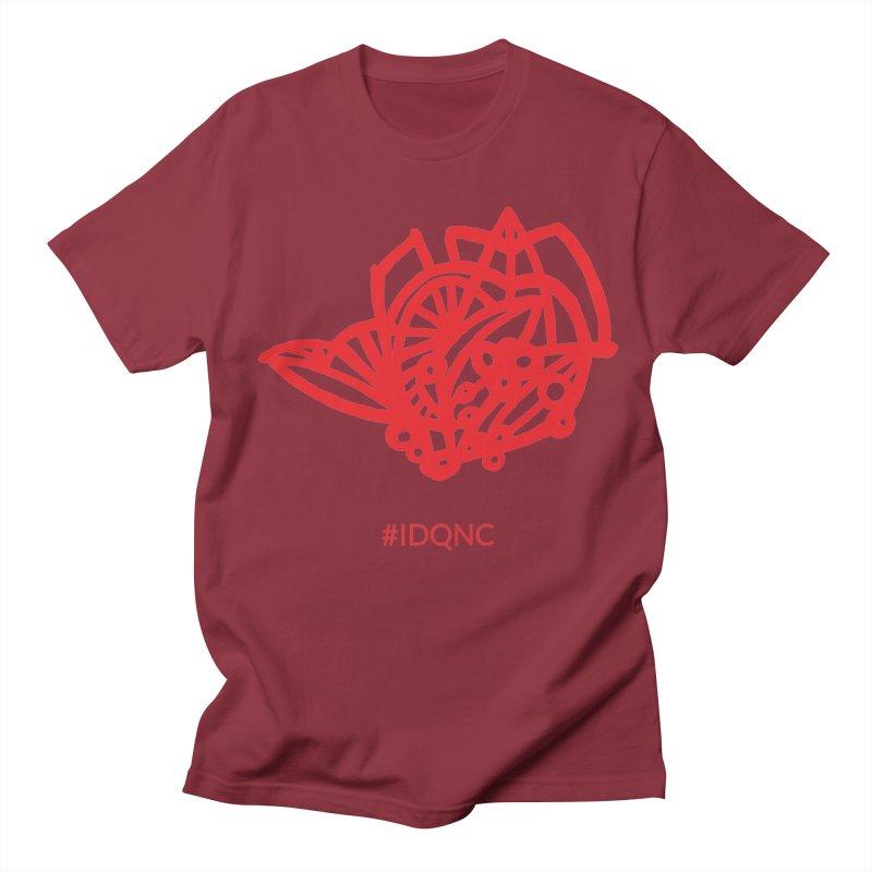 IDQNC-016 (red) Men's Regular T-Shirt by jeffjacques's Artist Shop