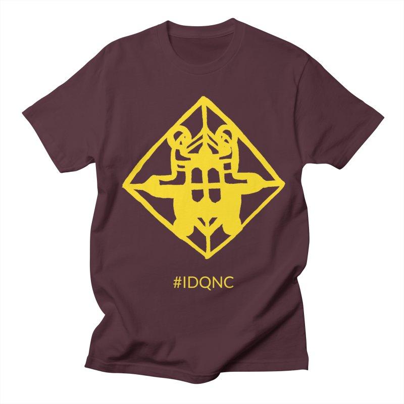 IDQNC-017 (gold) Men's Regular T-Shirt by jeffjacques's Artist Shop