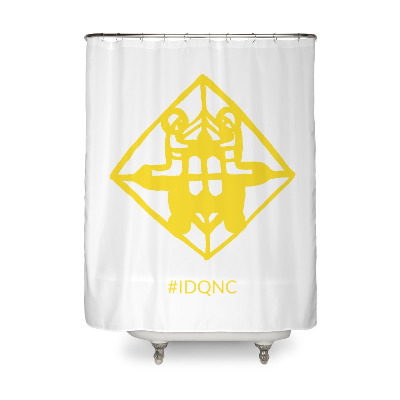 IDQNC-017 (gold) Home Shower Curtain by jeffjacques's Artist Shop