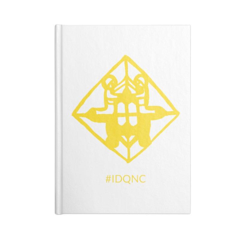 IDQNC-017 (gold) Accessories Blank Journal Notebook by jeffjacques's Artist Shop