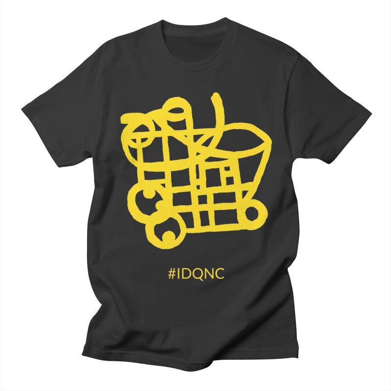 IDQNC-018 (gold) Men's Regular T-Shirt by jeffjacques's Artist Shop