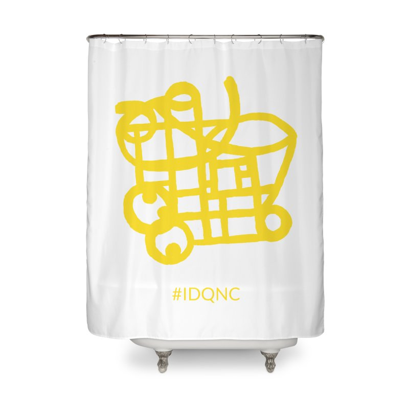 IDQNC-018 (gold) Home Shower Curtain by jeffjacques's Artist Shop