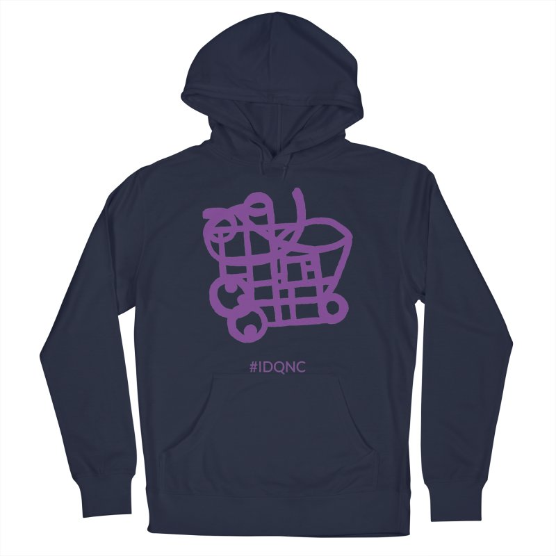 IDQNC-018 (purple) Men's Pullover Hoody by jeffjacques's Artist Shop
