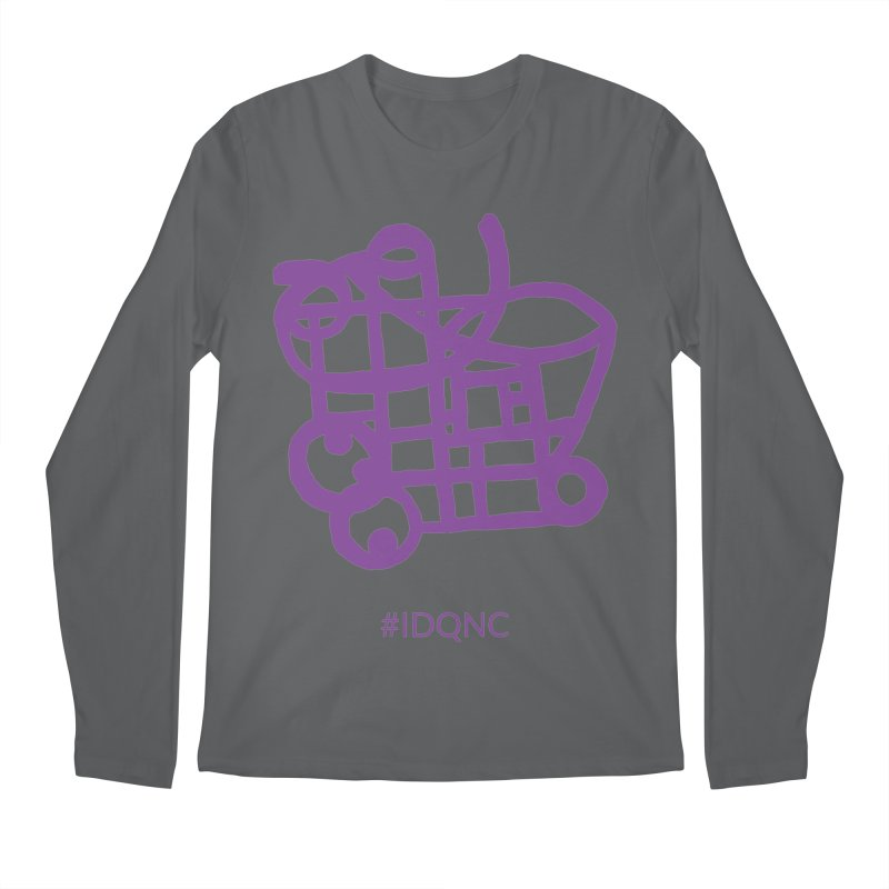 IDQNC-018 (purple) Men's Longsleeve T-Shirt by jeffjacques's Artist Shop