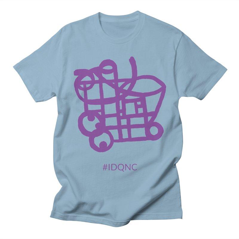 IDQNC-018 (purple) Men's T-Shirt by jeffjacques's Artist Shop