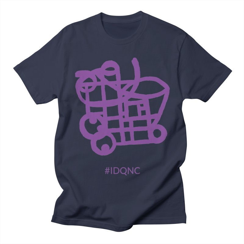 IDQNC-018 (purple) Men's T-Shirt by jeffjacques's Artist Shop