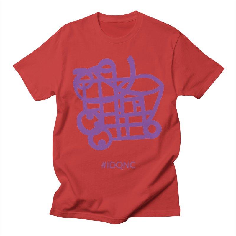 IDQNC-018 (purple) Men's Regular T-Shirt by jeffjacques's Artist Shop