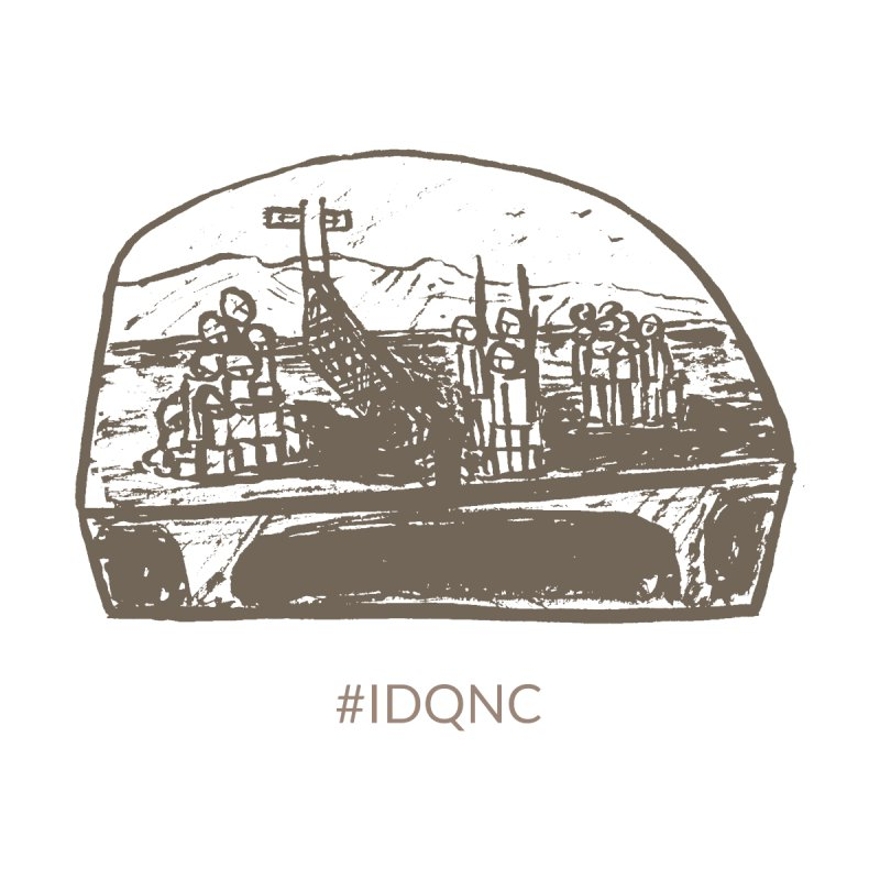 IDQNC-019 (brown) by jeffjacques's Artist Shop