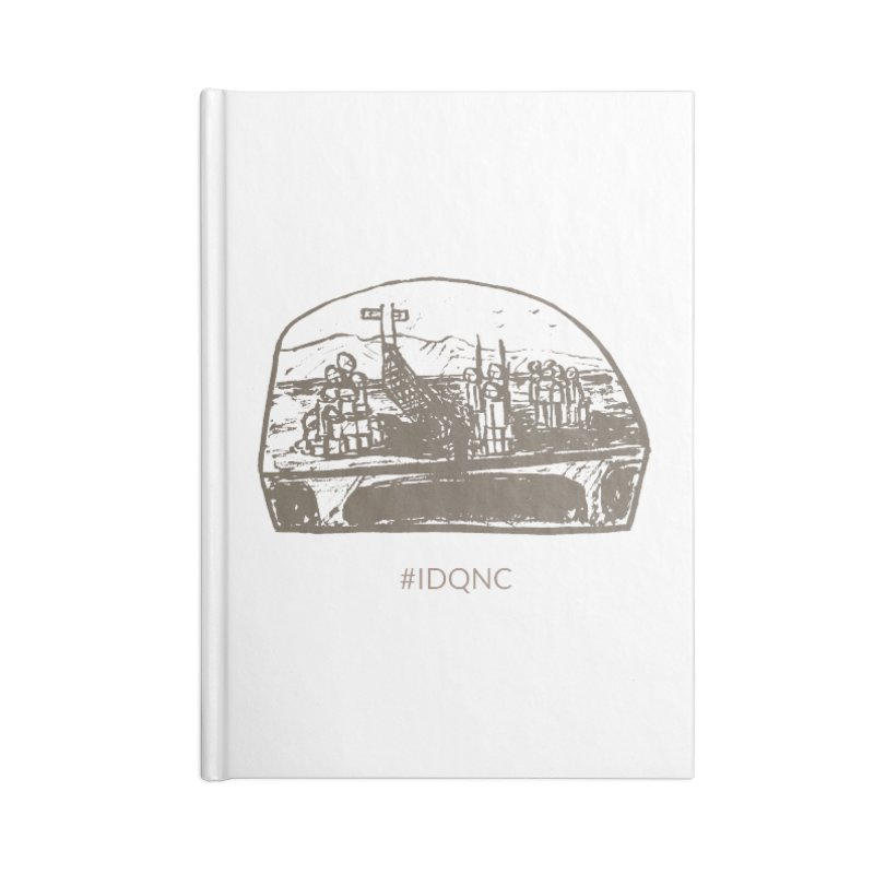 IDQNC-019 (brown) Accessories Blank Journal Notebook by jeffjacques's Artist Shop