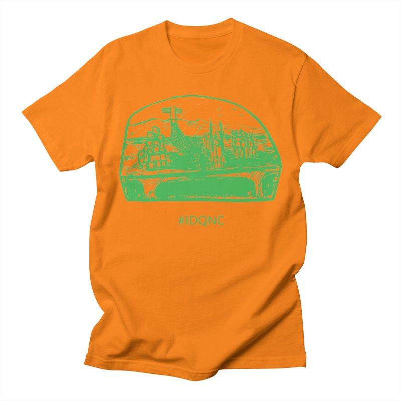 IDQNC-019 (green) Men's Regular T-Shirt by jeffjacques's Artist Shop