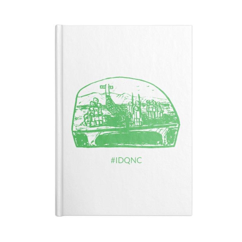 IDQNC-019 (green) Accessories Blank Journal Notebook by jeffjacques's Artist Shop