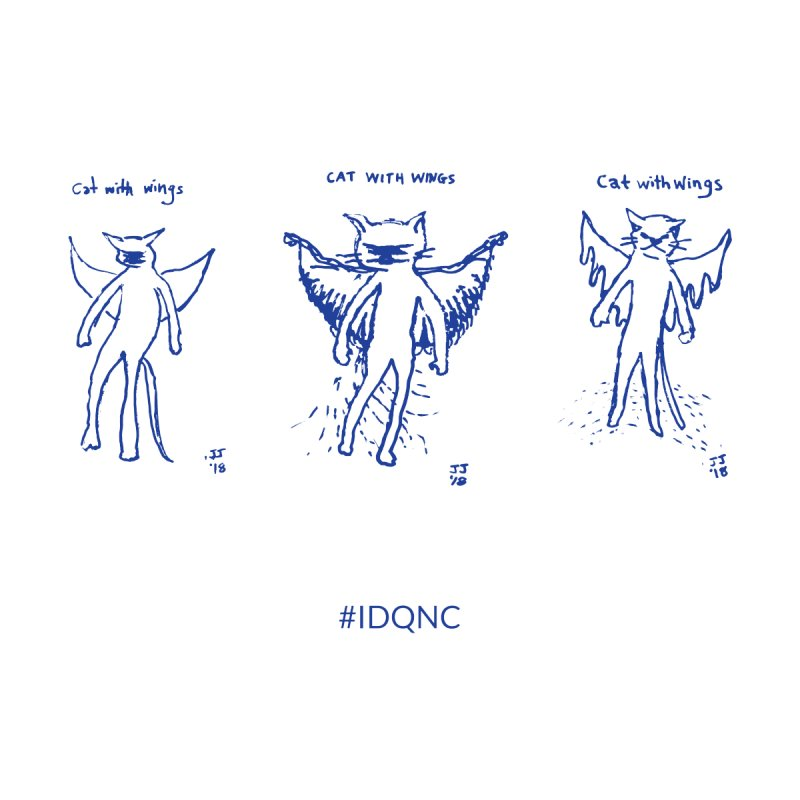 IDQNC-020 (blue) by jeffjacques's Artist Shop
