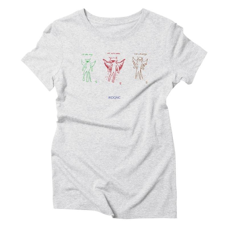 IDQNC-020 (green,red,brown) Women's T-Shirt by jeffjacques's Artist Shop