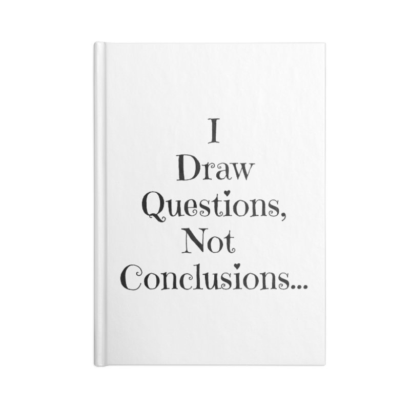 IDQNC-021 (black) Accessories Blank Journal Notebook by jeffjacques's Artist Shop