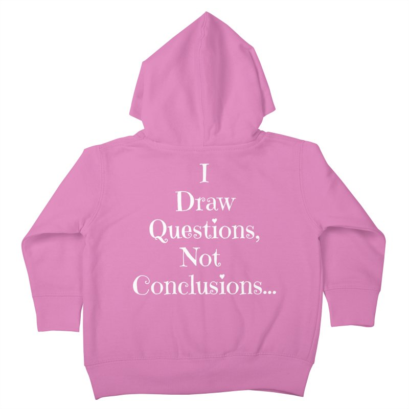 IDQNC-021 (white) Kids Toddler Zip-Up Hoody by jeffjacques's Artist Shop