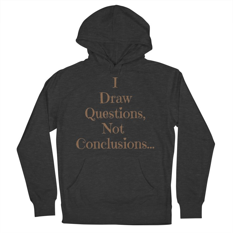 IDQNC-021 (brown) Men's French Terry Pullover Hoody by jeffjacques's Artist Shop