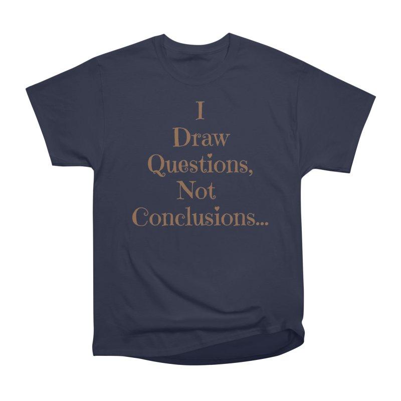 IDQNC-021 (brown) Women's Heavyweight Unisex T-Shirt by jeffjacques's Artist Shop