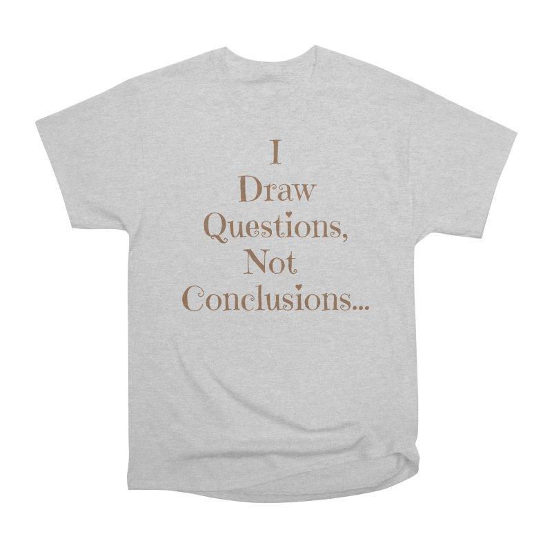 IDQNC-021 (brown) Men's Heavyweight T-Shirt by jeffjacques's Artist Shop