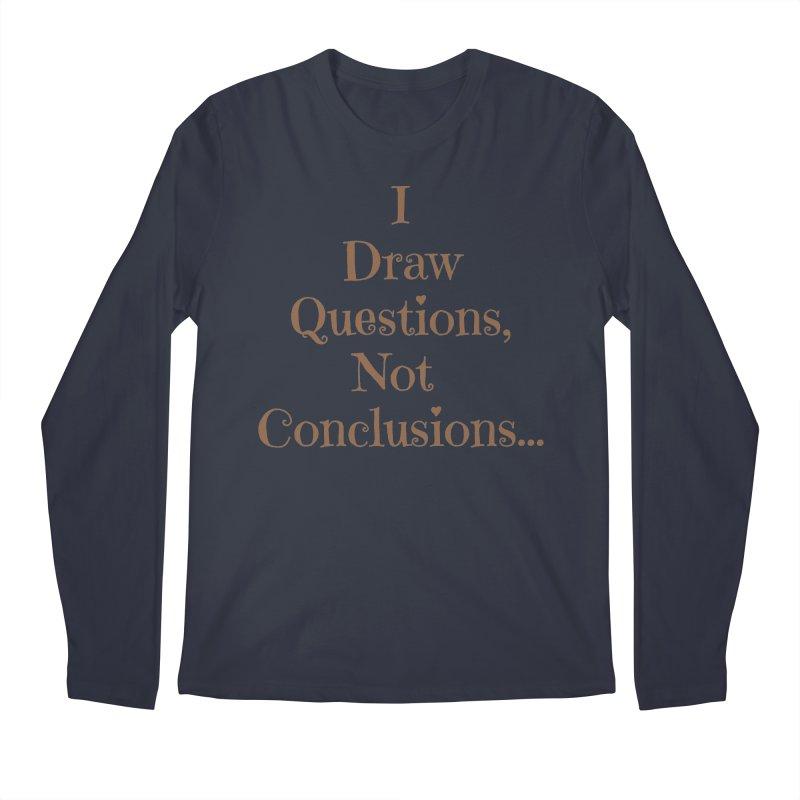 IDQNC-021 (brown) Men's Regular Longsleeve T-Shirt by jeffjacques's Artist Shop