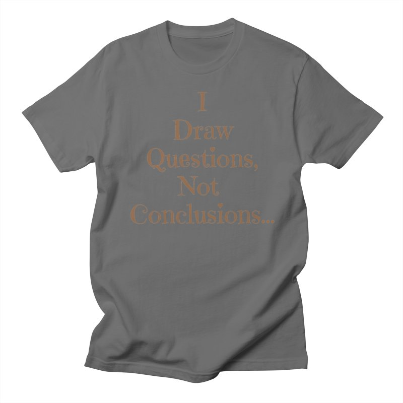IDQNC-021 (brown) Men's T-Shirt by jeffjacques's Artist Shop