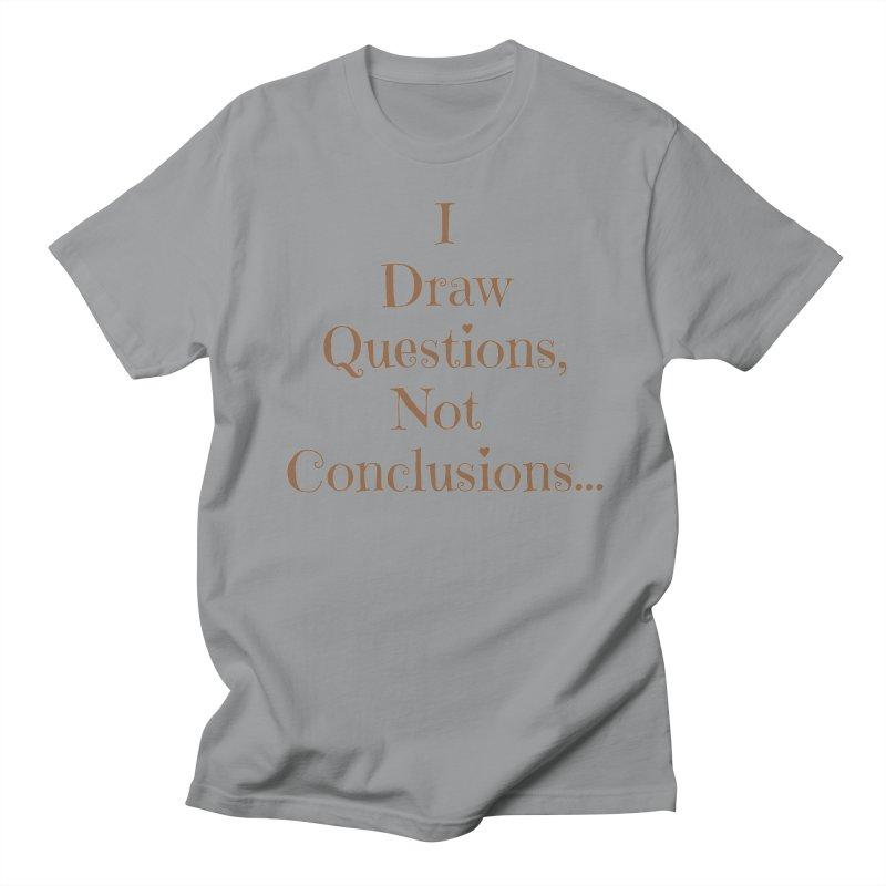 IDQNC-021 (brown) Women's Regular Unisex T-Shirt by jeffjacques's Artist Shop