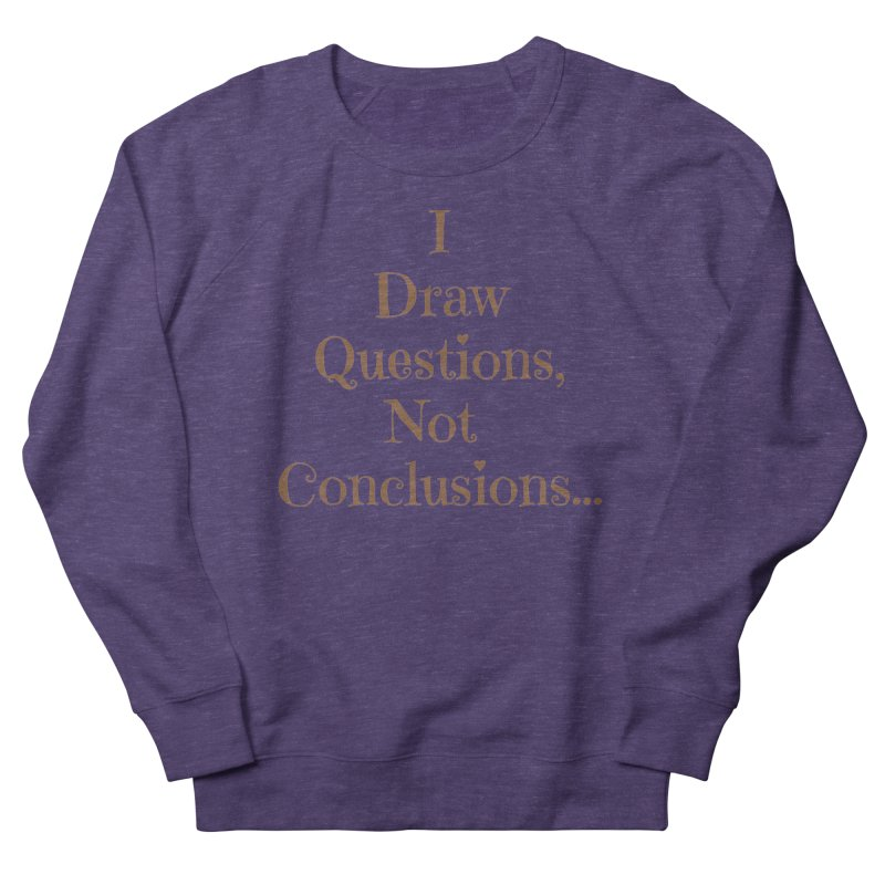IDQNC-021 (brown) Women's French Terry Sweatshirt by jeffjacques's Artist Shop