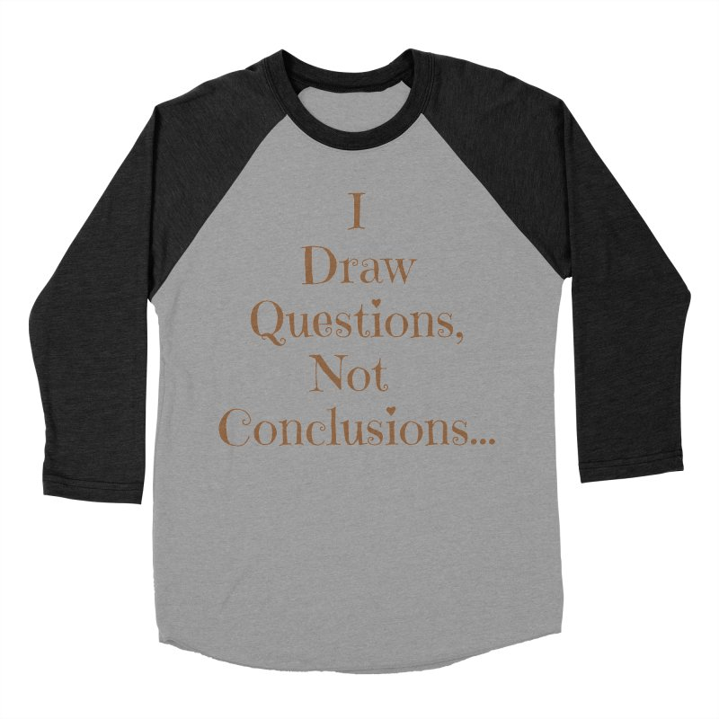 IDQNC-021 (brown) Women's Baseball Triblend Longsleeve T-Shirt by jeffjacques's Artist Shop
