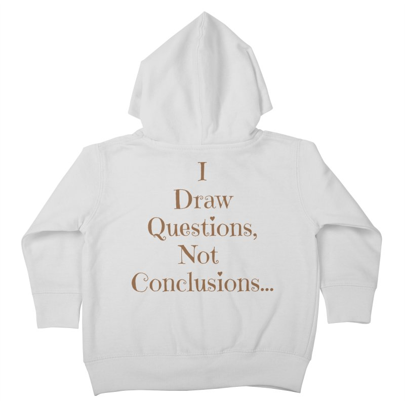 IDQNC-021 (brown) Kids Toddler Zip-Up Hoody by jeffjacques's Artist Shop
