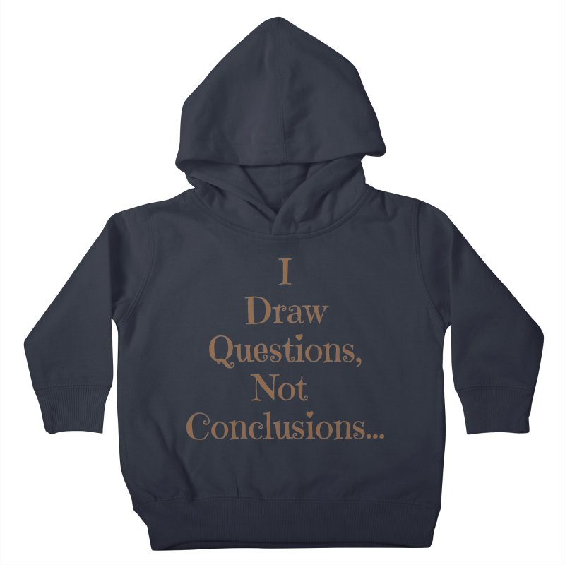 IDQNC-021 (brown) Kids Toddler Pullover Hoody by jeffjacques's Artist Shop