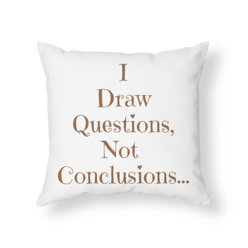 IDQNC-021 (brown) Home Throw Pillow by jeffjacques's Artist Shop