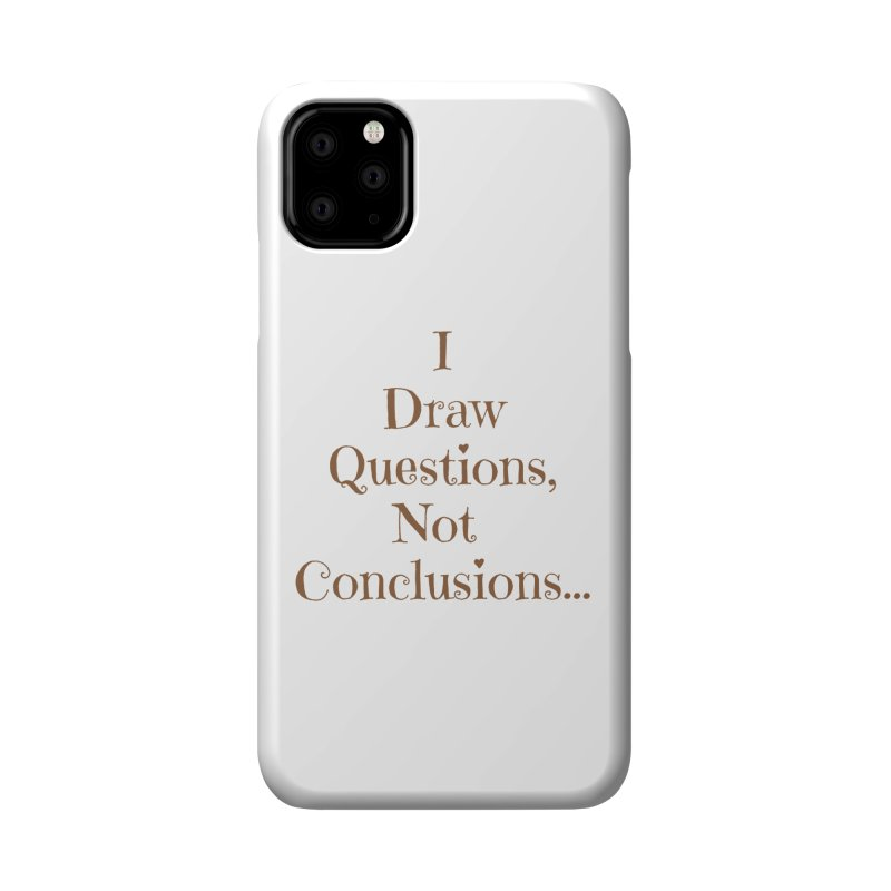 IDQNC-021 (brown) Accessories Phone Case by jeffjacques's Artist Shop