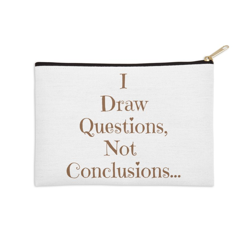 IDQNC-021 (brown) Accessories Zip Pouch by jeffjacques's Artist Shop