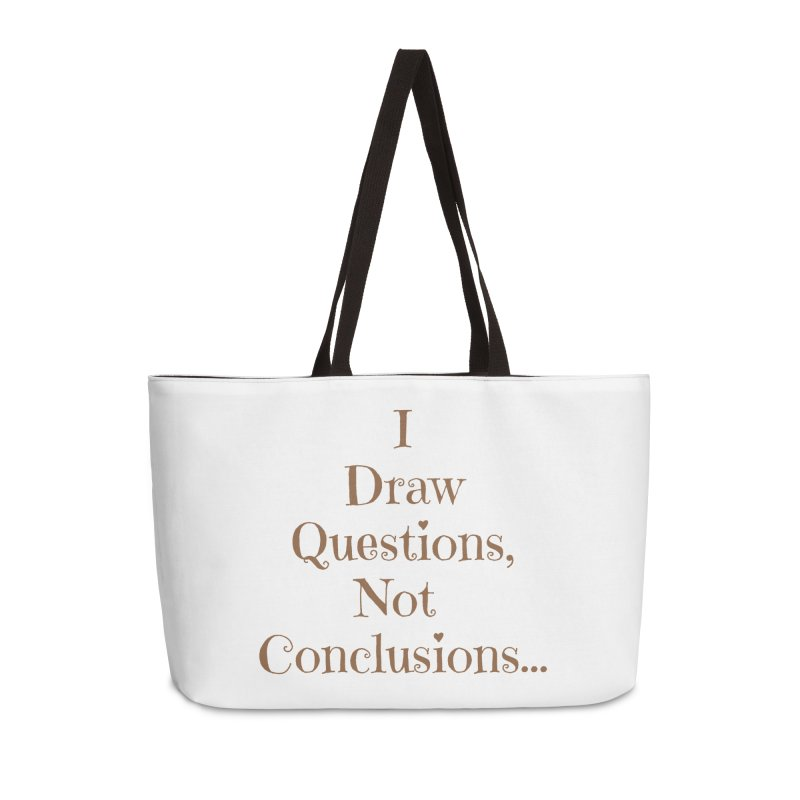 IDQNC-021 (brown) Accessories Weekender Bag Bag by jeffjacques's Artist Shop