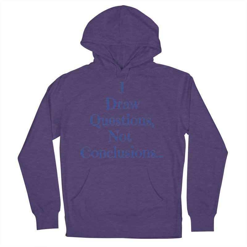 IDQNC-021 (Dark Blue) Women's French Terry Pullover Hoody by jeffjacques's Artist Shop