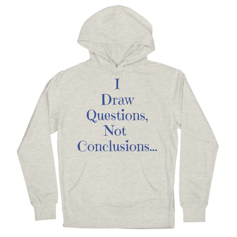 IDQNC-021 (Dark Blue) Men's French Terry Pullover Hoody by jeffjacques's Artist Shop