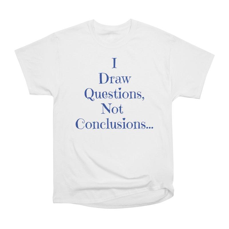 IDQNC-021 (Dark Blue) Men's Heavyweight T-Shirt by jeffjacques's Artist Shop