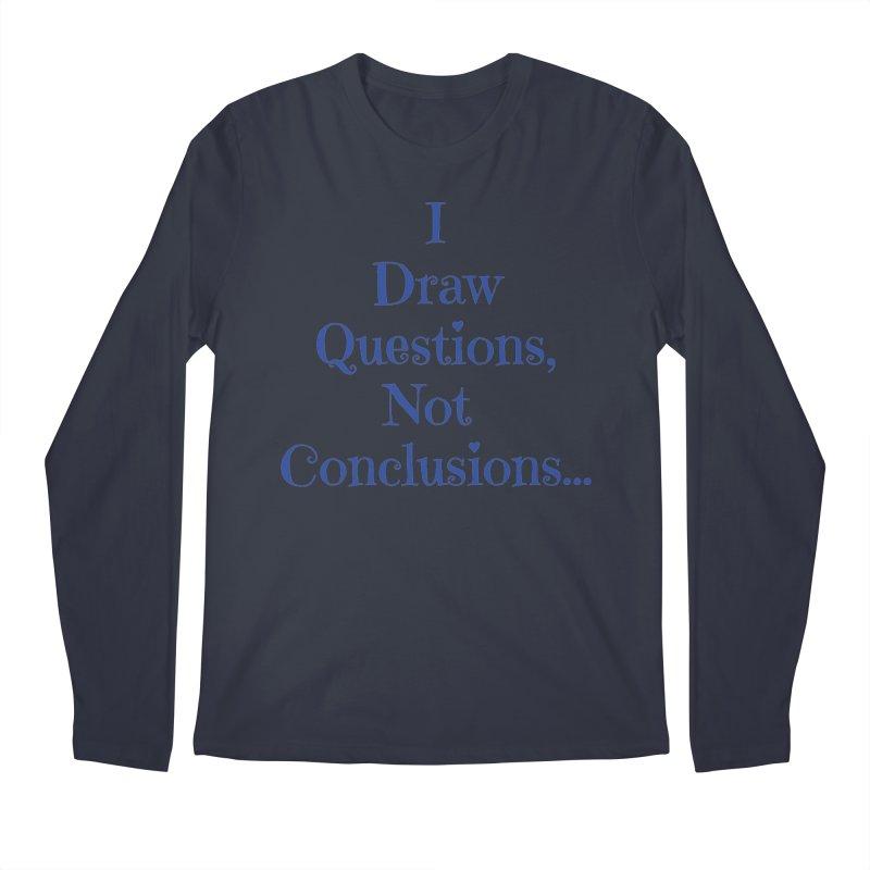 IDQNC-021 (Dark Blue) Men's Regular Longsleeve T-Shirt by jeffjacques's Artist Shop