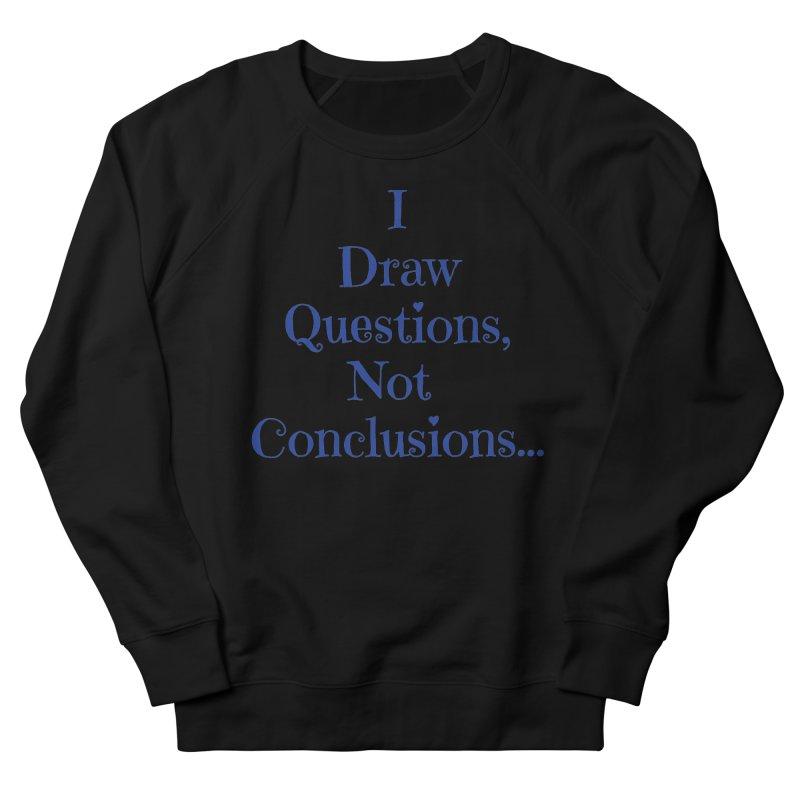 IDQNC-021 (Dark Blue) Women's French Terry Sweatshirt by jeffjacques's Artist Shop