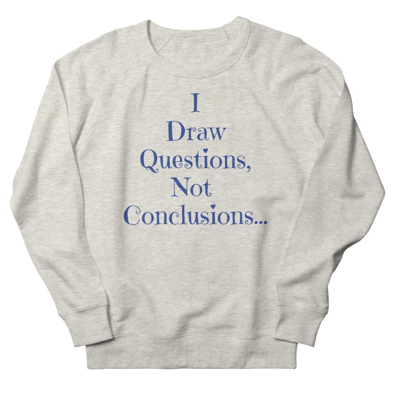 IDQNC-021 (Dark Blue) Women's French Terry Sweatshirt by jeffjacques's Artist Shop