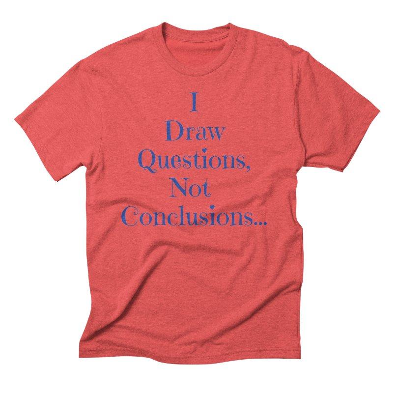 IDQNC-021 (Dark Blue) Men's Triblend T-Shirt by jeffjacques's Artist Shop