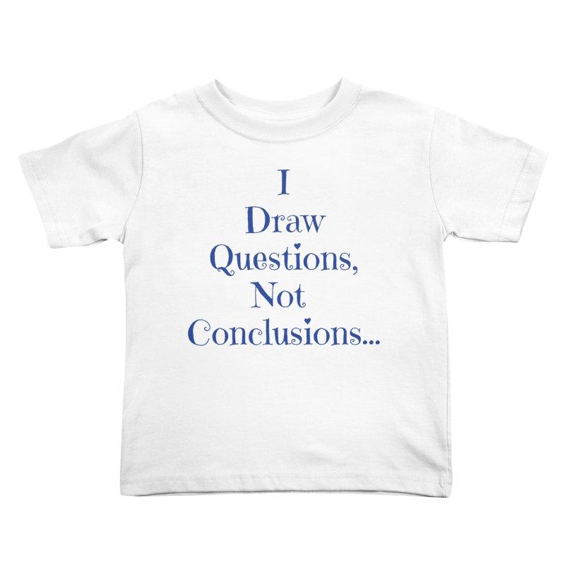 IDQNC-021 (Dark Blue) Kids Toddler T-Shirt by jeffjacques's Artist Shop
