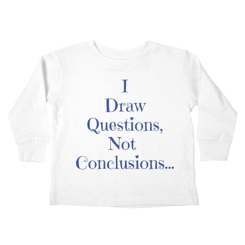 IDQNC-021 (Dark Blue) Kids Toddler Longsleeve T-Shirt by jeffjacques's Artist Shop
