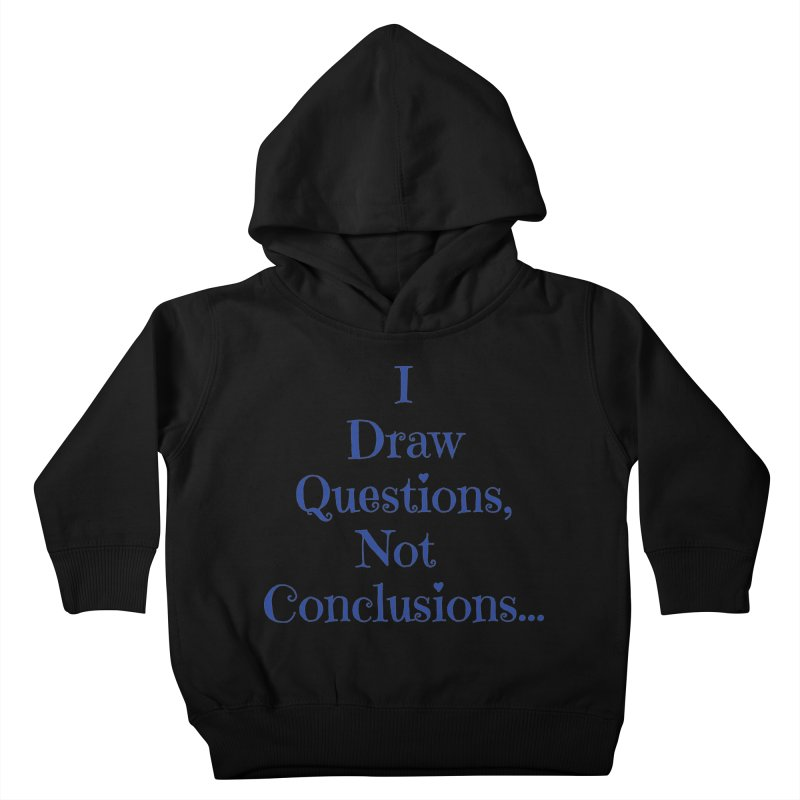 IDQNC-021 (Dark Blue) Kids Toddler Pullover Hoody by jeffjacques's Artist Shop