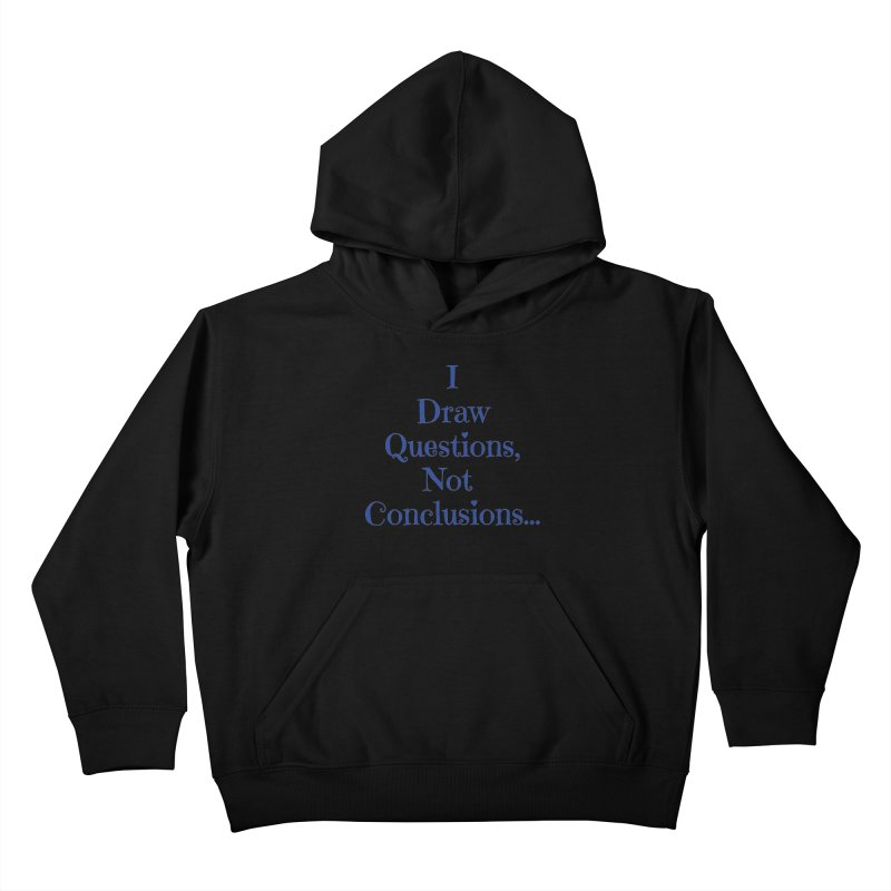 IDQNC-021 (Dark Blue) Kids Pullover Hoody by jeffjacques's Artist Shop
