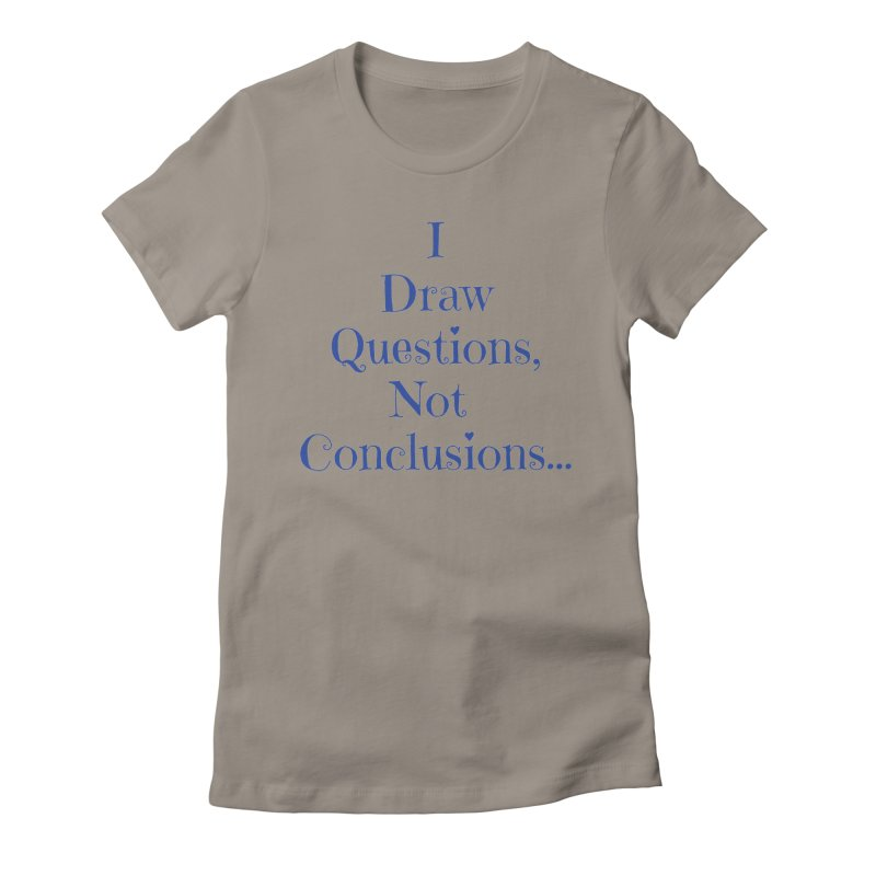 IDQNC-021 (Dark Blue) Women's Fitted T-Shirt by jeffjacques's Artist Shop