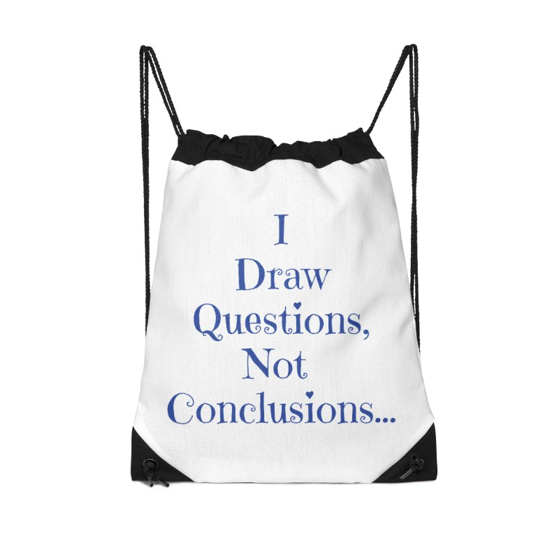 IDQNC-021 (Dark Blue) Accessories Drawstring Bag Bag by jeffjacques's Artist Shop