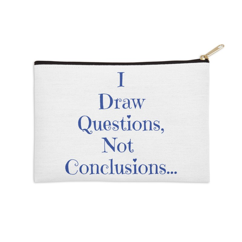 IDQNC-021 (Dark Blue) Accessories Zip Pouch by jeffjacques's Artist Shop