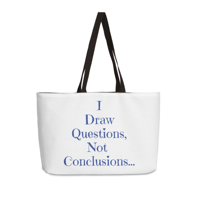 IDQNC-021 (Dark Blue) Accessories Weekender Bag Bag by jeffjacques's Artist Shop