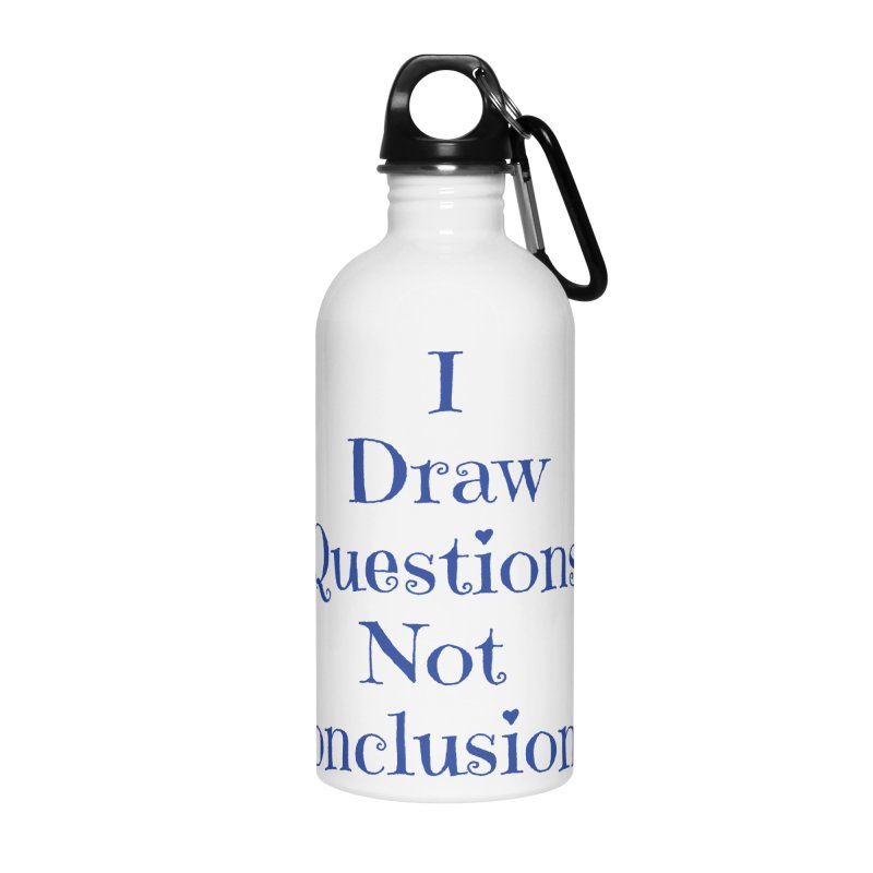 IDQNC-021 (Dark Blue) Accessories Water Bottle by jeffjacques's Artist Shop